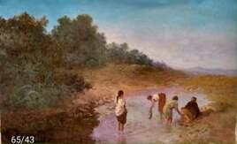 les femmes à la rivière