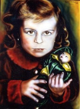 La poupée de satin