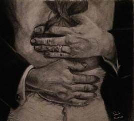 Dans les bras d'un père