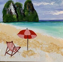 Vacance au bord de la mer