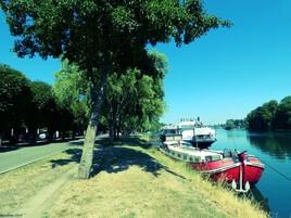 berges à Triel sur Seine..
