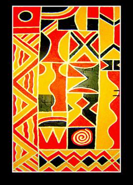 long way | Twagirumukiza | sculpture | bas relief