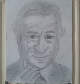 Caricature Robert DeNiro