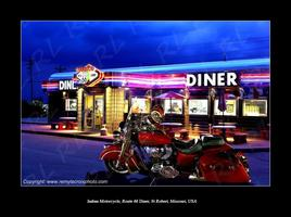 Indian Motorcycle Route 66 Diner