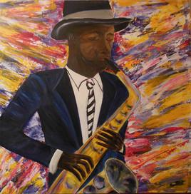 Saxophoniste: Sur un  air de Jazz
