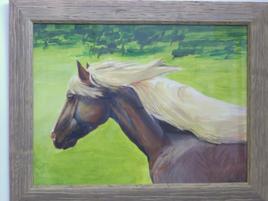 cheval blond