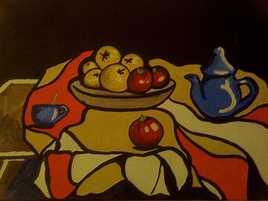 Pommes et tomates