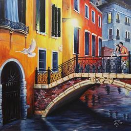 Venise un soir romantique