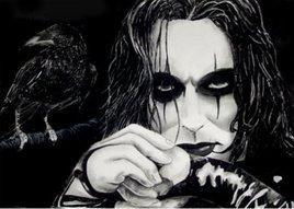 brandon lee dans the crow