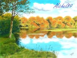 L'étang de St Ange
