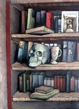 crâne de biblio