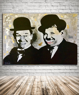 LAUREL and HARDY «Smile»