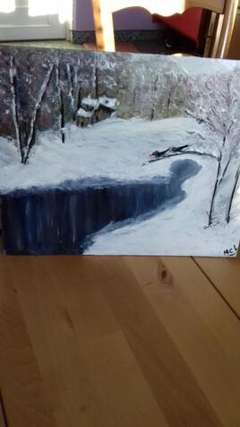 CorbeauX en hiver