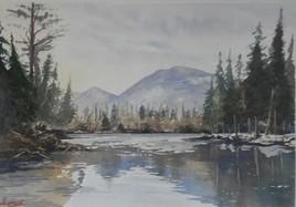 Paysage 1 - peint il y a 20 ans
