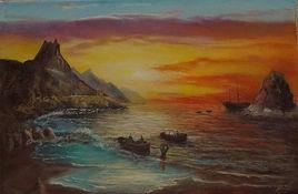 Débarquement des pirates sur la Plage de Las Teresitas - TENERIFE