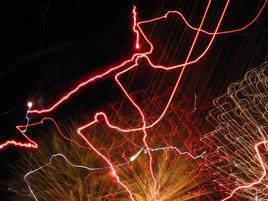 night laser