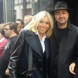 Brigitte Macron et Bastien Cessa