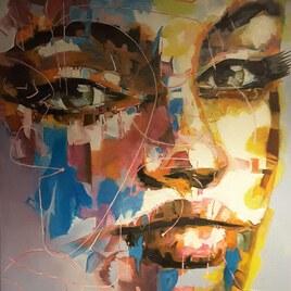 Portrait femme contemporain