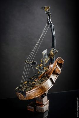 Sculpture Mécanismes intemporels