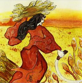 Illustration originale du signe du Zodiaque VIERGE2