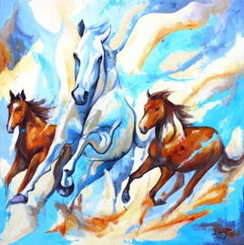 1239 : Ciel de chevaux
