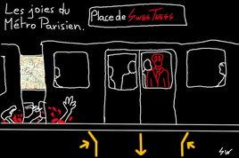 Les Joies du métro Parisien