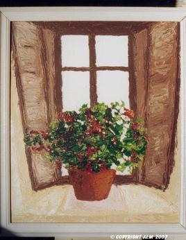 Peinture Azalée