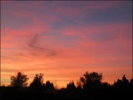 Crépuscule de Novembre