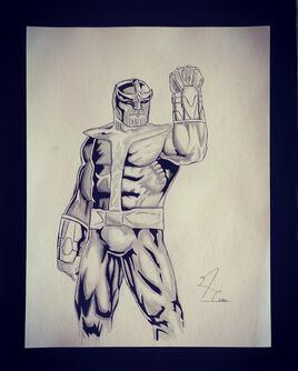 Thanos marvel comics (2020)
