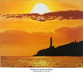 Coucher de soleil sur Portzic