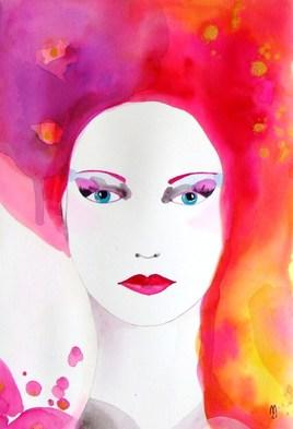 Portrait Femme Gouache