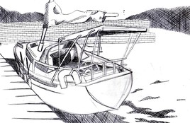bateau au port