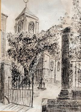 La chapelle de  Thuison