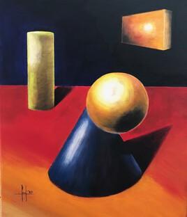 Etude N°1 ( The Blue Cone )