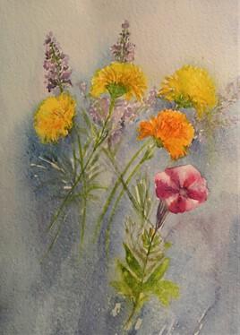 fleurs d'août