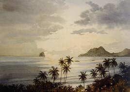 Fin du jour en Martinique.