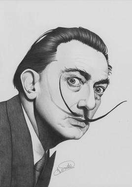 Portrait de Salvador Dali