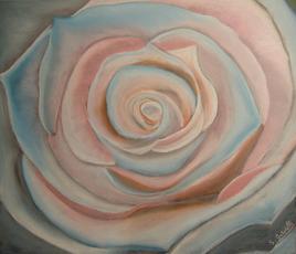 Rose pink blue