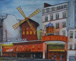 Moulin rouge le soir