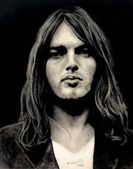David Gilmour Portrait