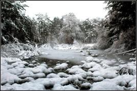 riviere gelé