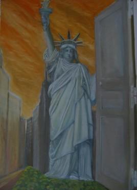 porte ouverte sur New York