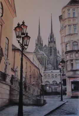 Colline de Petrov à Brno, République Tchèque