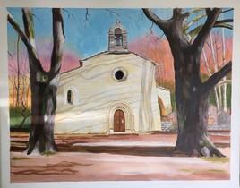 La chapelle de la Montagne de Lure.