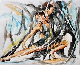 Jambes de tango