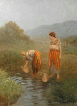 Femmes à la rivière