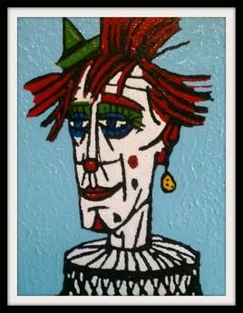 Clown Fraise