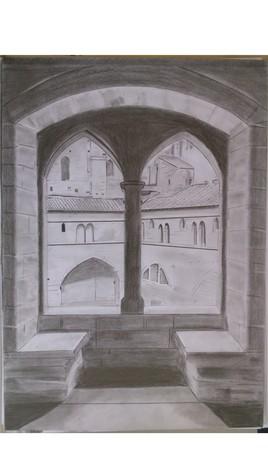 fenêtre sur cours (du palais des papes)