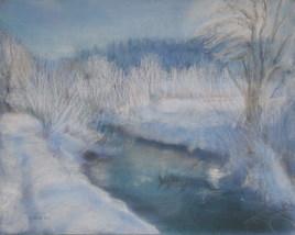 Lumière hivernale 25 - La Cluse et Mijoux
