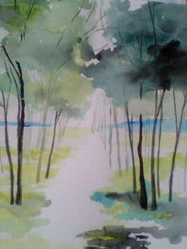 forêt clairsemée